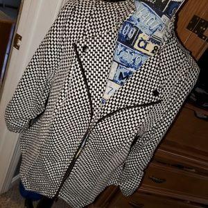 TORRID Black and white jacket.
